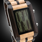 Online Wood Lcd Watches
