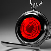 Vortex Pocket Watch Lcd Watches